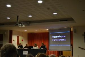 Intervenció Carme Altayó Dilluns de Drets Humans Conflict Minerals