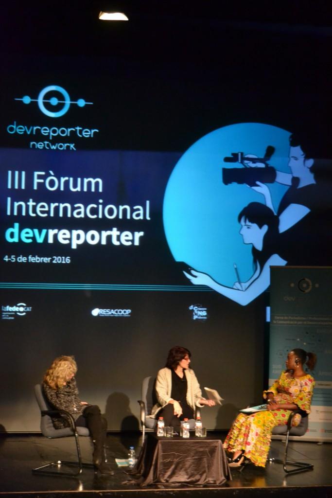 Mònica Terribas, Montse Santolino i Caddy Adzuba