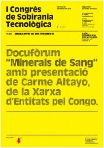 I Congrés de Sobirania Tecnològica conflict minerals