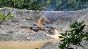 La mineria il·legal a Colòmbia