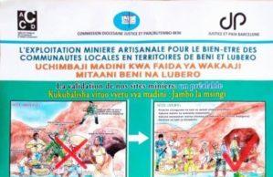 Nou informe de Justice et Paix Butembo-Beni