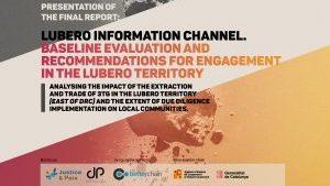 Nos vamos a Bruselas: presentación del informe final de la investigación #ConflictMinerals