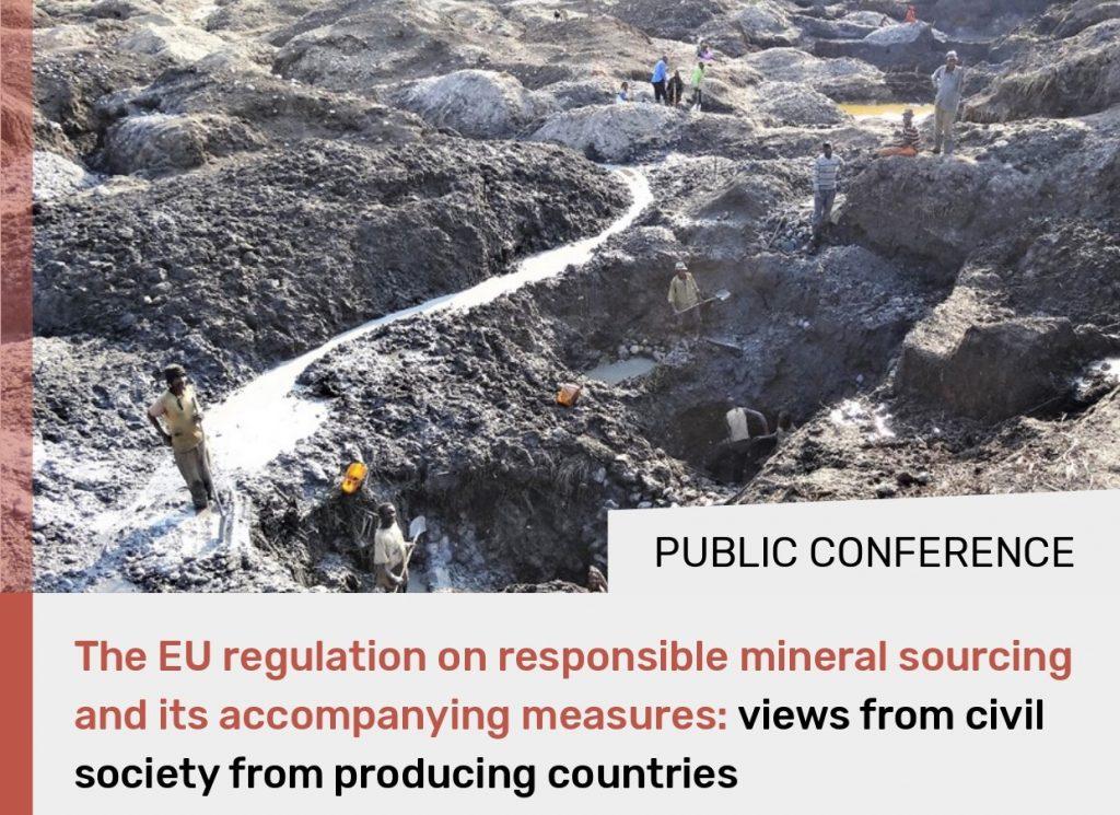 #ConflictMinerals participa en les jornades sobre la regulació europea de proveïment responsable
